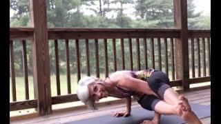 How to get into 8-Angle Pose - Astavakrasana (with Preparatory Poses)