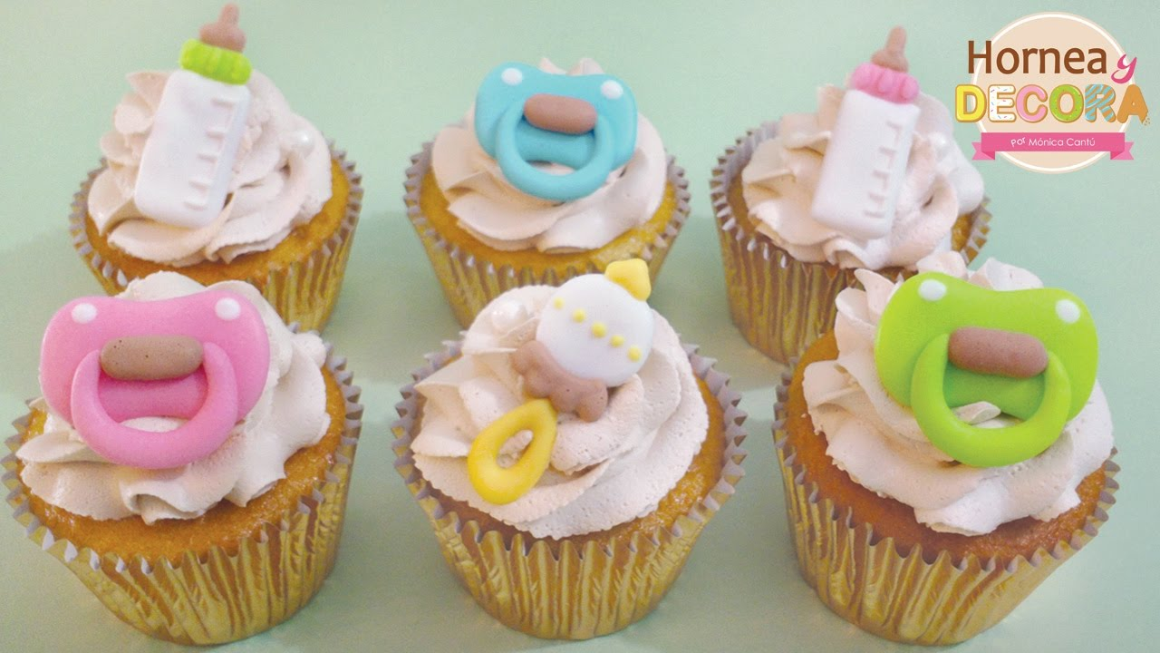 Cupcakes Para Baby Shower 28 Youtube