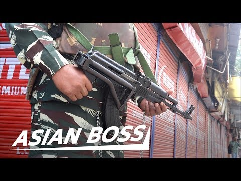 Inside Kashmir: The Most Heavily Militarized Zone In The World | ASIAN BOSS