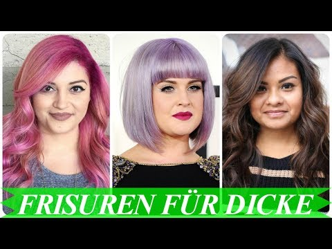 Schone Frisuren Fur Mollige Frauen