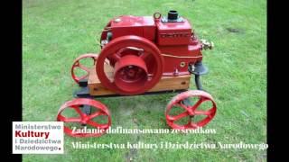Silnik Deutz MA 416 w zbiorach Muzeum Rolnictwa w Ciechanowcu