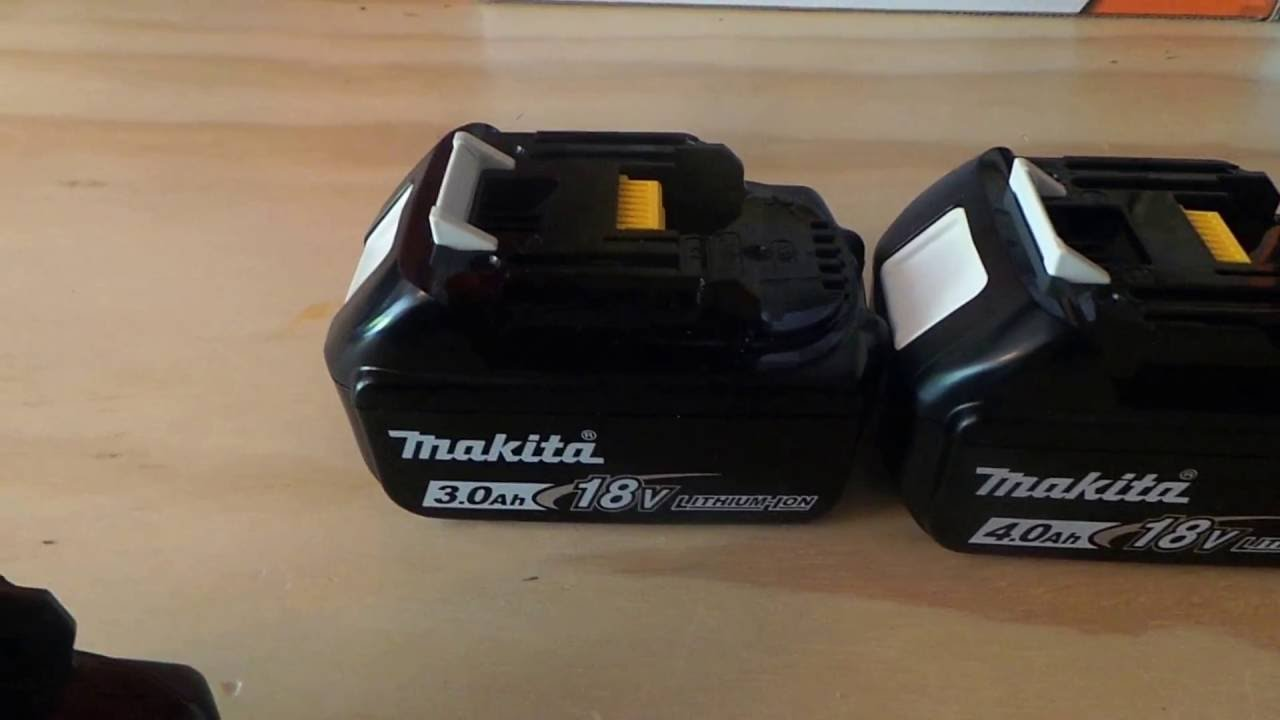 6691eae9f659 Makita 18v Lithium Ion Battery Review - YouTube