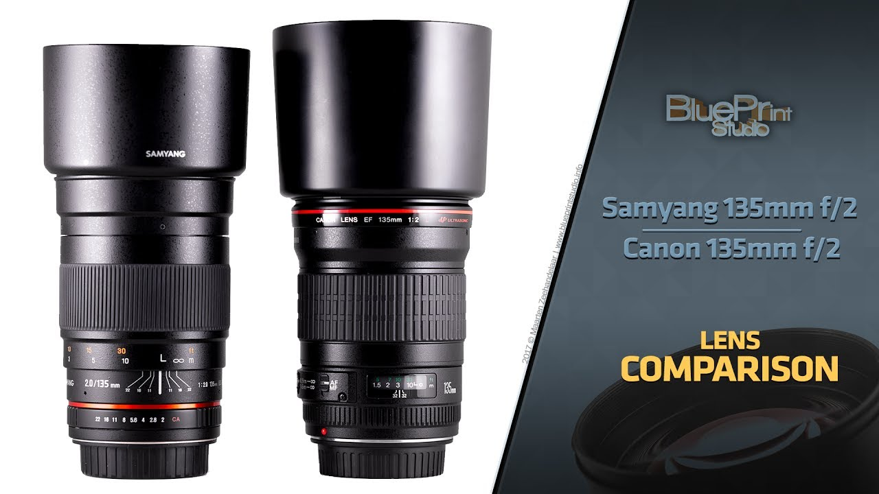 Canon 135mm L VS  Samyang 135mm | Review showing surprising differences  (with samples)
