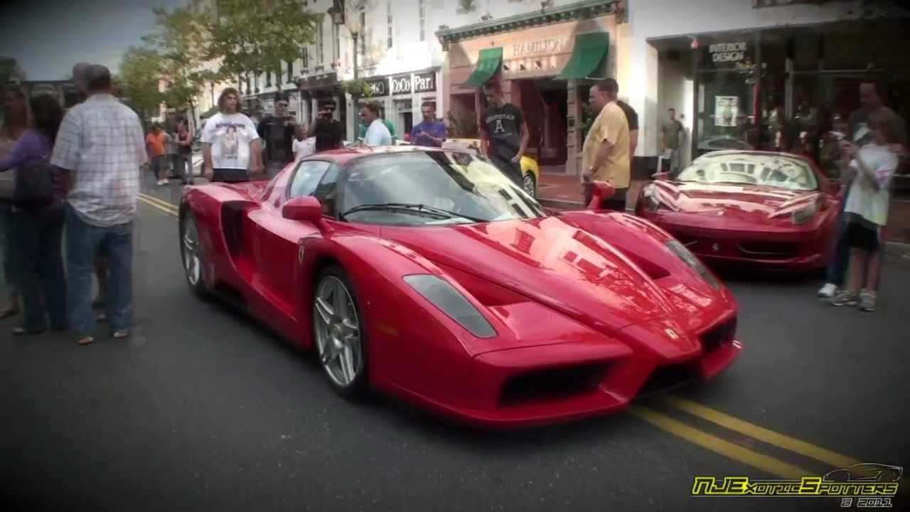 Ferrari Enzo Red Bank Nj Exotic Car Show 9 10 11