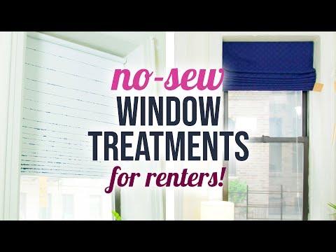 3 No-Sew Curtains for Apartments & Dorm Rooms - HGTV Handmade