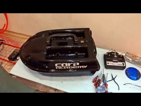 Ремонт кораблика для рыбалки Repair of boat for fishing