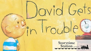 Gambar cover David Gets In Trouble by David Shannon   Books for kids read aloud!