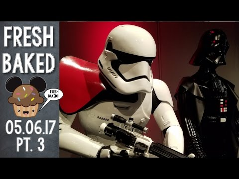 Extended Star Wars Day with Star Tours and Launch Bay   05-6-17 Pt. 3 [DL]