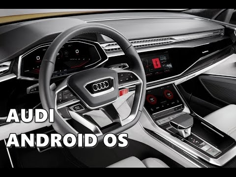 Audi Q8 Sport Android Operating System