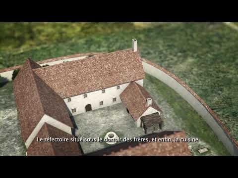 Nouvelle fenêtre : Reconstitution d'une commanderie templière