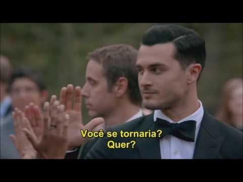 CENA: Enzo e Bonnie dançam no Miss Mystic Falls e Bonnie propõe a Enzo que ele se torne humano