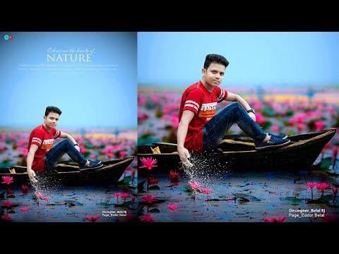 Nature photoshop  manipulation tutorials   Water splash in your photo HD
