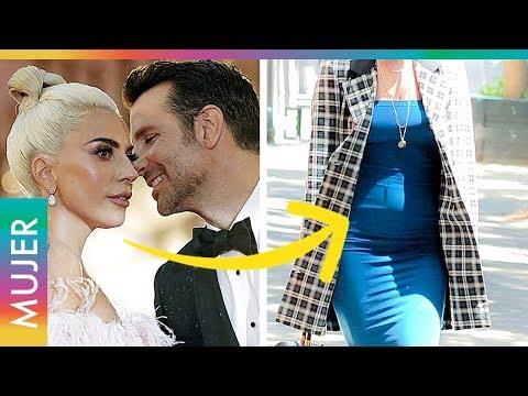 Aseguran que Lady Gaga espera un bebé de Bradley Cooper