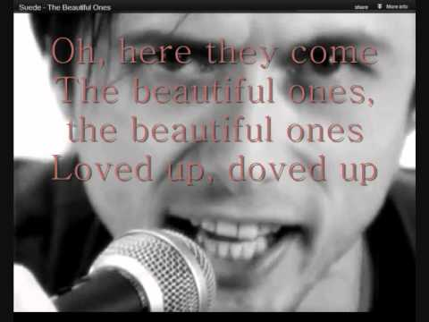 Suede - Beautiful Ones Lyrics