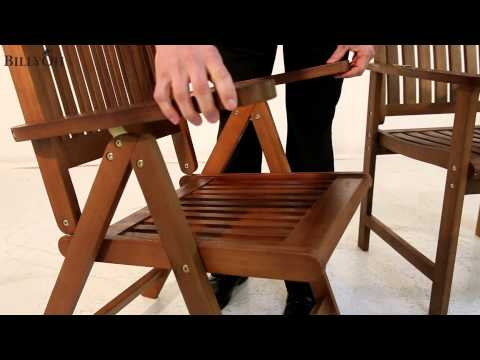 BillyOh Folding Chair, Reclining Chair and Armchair