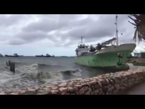Strong Winds in Naga, Cebu