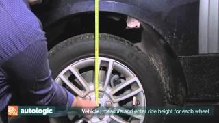 Land Rover Suspension Calibration