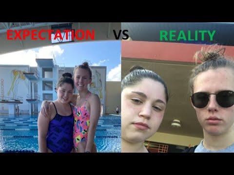 EXPECTATION VS REALITY: Swimming Training Trip