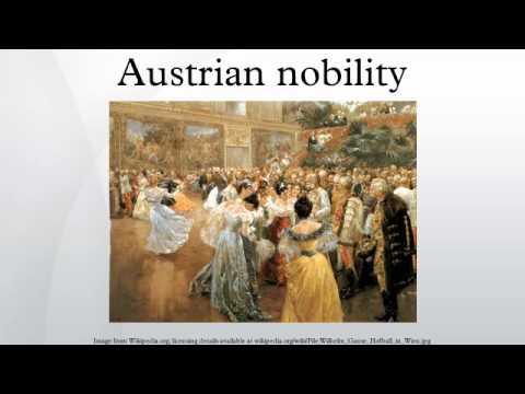 Austrian nobility