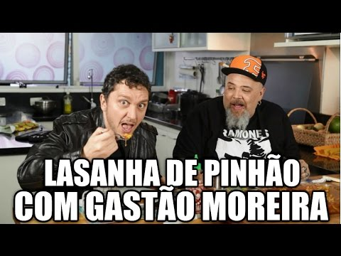 Panelaço Com João Gordo - Lasanha De Pinhão Com Gastão