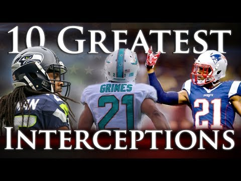 Ten Greatest Interceptions of the 21st Century