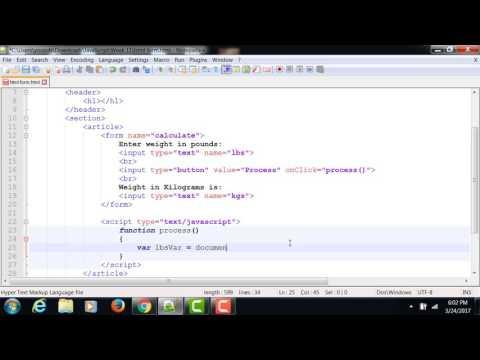 Cara Onclick Javascript