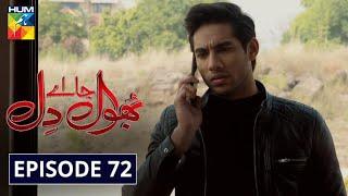 Bhool Jaa Ay Dil Episode 72 HUM TV Drama 23 February 2021