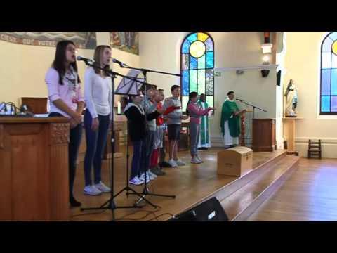 Messe de rentrée 2015 des CE2, CM1 et CM2 - Chant