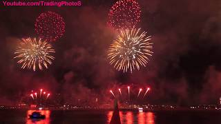 2017 NYC Macy's 4th of July Fireworks. Unedited Video