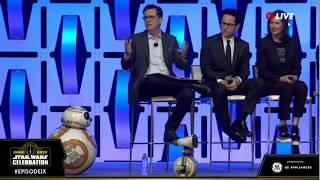 JJ Abrams  reveals new droid D-O: Star Wars Celebration Chicago 2019