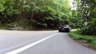 Turbo BRZ following GTR - Tail of the Dragon