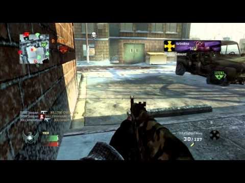 Black Ops: 101 Kills on Grid | EPIC FAIL | Commentary ( turbodima )
