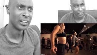 SEVDALIZA - HUMAN - Choreography by Galen Hooks - Filmed by @TimMilgram Reaction Video!