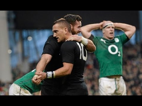 Final minute of Ireland vs New Zealand 2013