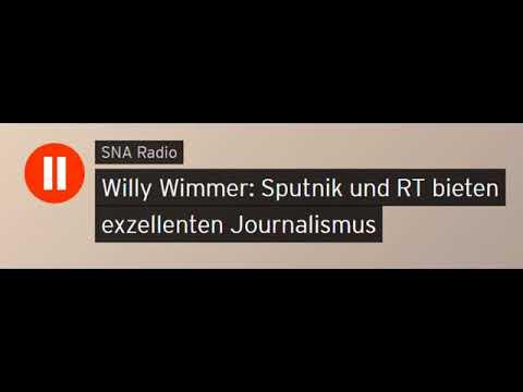 Willy Wimmer (CDU) über deutsche Außenpolitik u. russische Auslandsmedien (Sputniknews)