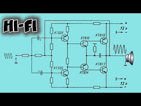 Hi fi усилитель на транзисторах своими руками