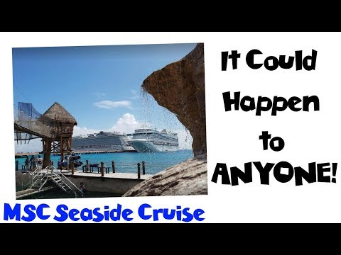 Scammed at the Beach & Missing Cell Phone in Mexico! MSC Seaside Cruise Vlog [ep19]