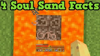 Minecraft Xbox 360 / PS3 - 4 Cool Facts About Soul Sand