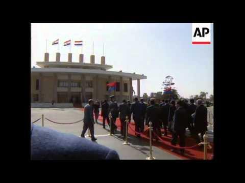 EGYPT: CAIRO: SAUDI ARABIAN TROOPS ON YEMEN BORDER