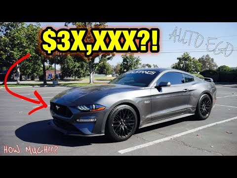 HOW much I PAID for MY new 2019 Mustang GT PREMIUM??!