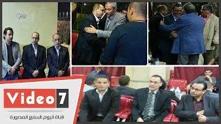 خالد صلاح ونقيب الصحفيين يشاركان فى عزاء شقيق أكرم القصاص