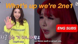 Eng Subs Queendom Ep 10 End Minzy S Message To Park Bom 2ne1 191031 Cut