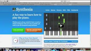 How to Download SYNTHESIA, Find and Input MIDI, EDIT songs, and Record on MAC