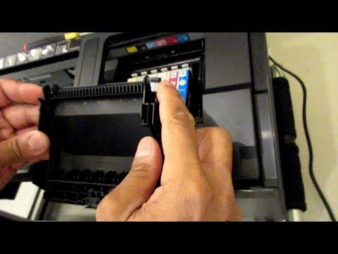 How To Remove Epson 1430 Ink Carriage Cover