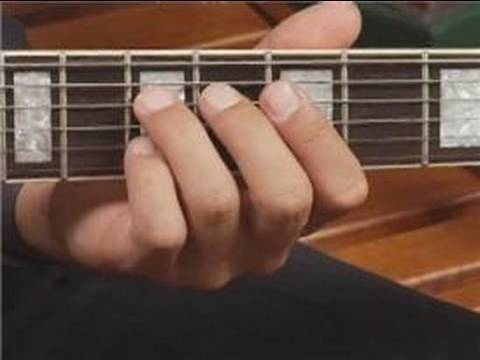 Play D7 Chord On The Middle Guitar Strings Root Position Guitar