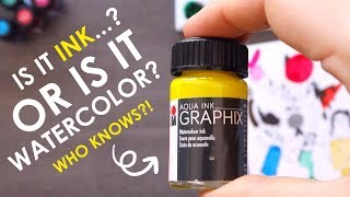 WHAT IS IT... Watercolor or Ink?  - Mystery Art Supplies Paletteful Pack