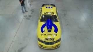 Jeg Coughlin Jr Wraps New JEGS Mopar Dodge Avenger Pro Stock Car Time Lapse Video(2012)
