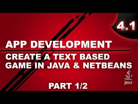 Make a Text Based Game in Java and Netbeans - Part 1/2