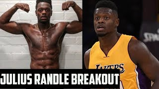 Julius randle is ripped & ready to breakout for the lakers | nba 2018