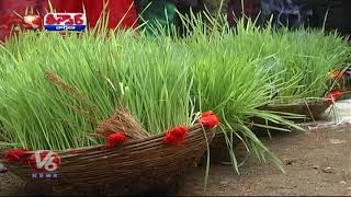 Teej Festival In Celebration In Villages | Teenmaar News  Telugu News